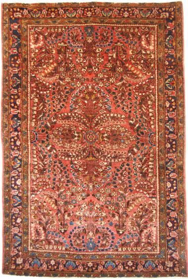 Orientteppich antik  DIE TEPPICH-INSEL - Amerik. Sarough antik